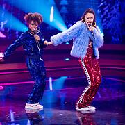 NLD/Baarn/20180410 - 2018 finale 'It Takes 2, Eva Cleven en Romy Monteiro
