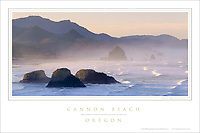 Cannon Beach Oregon Poster