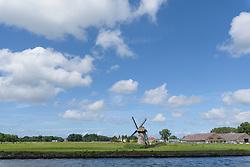 Voorschoten, Zuid Holland, Netherlands vanaf De Vliet