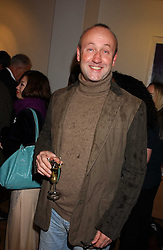 SEBASTIAN SAINSBURY at an exhibition of art by Jeffrey Kroll entitled Imirage held at the Arndean Gallery, Cork Street, London on 19th October 2005.<br />