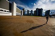 Brasilia_DF, Brasil...Predio da Biblioteca Nacional de Brasilia ou Biblioteca Nacional Leonel de Moura Brizola...The bulding of Brasilia National Library or National Library Leonel de Moura Brizola...Foto: JOAO MARCOS ROSA / NITRO