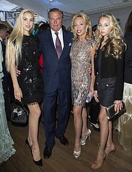 Princes Charles and Camilla of Bourbon Sicille with their daugthers Maria Carolina, Maria Chiara attend the Alberta Ferretti cruise collection fashion show held at Monaco Yacht Club, Monaco on May 18 , 2109. Photo by ABACAPRESS.COM