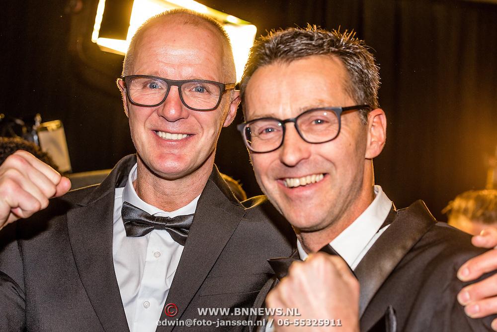 NLD/Amsterdam/20161221 - NOC*NSF Sportgala 2016, Pedro van Raamsdonk en Stephan van den Berg