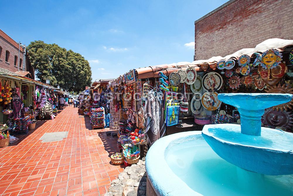 Olvera Street Downtown Los Angeles California