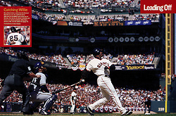 Barry Bonds hits #660, Sports Illustrated, 2004