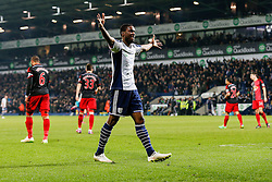 Brown Ideye of West Brom celebrates after Saido Berahino (not pictured) scores a goal to make it 2-0 - Photo mandatory by-line: Rogan Thomson/JMP - 07966 386802 - 11/02/2015 - SPORT - FOOTBALL - West Bromwich, England - The Hawthorns - West Bromwich Albion v Swansea City - Barclays Premier League.