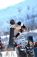 The Arctic Challenge/Halfpipe - FINALS/Tromsø/31032004:<br /> Andreas Ygre Wiig - NOR<br /> FOTO: KAJA BAARDSEN/DIGITALSPORT
