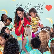 NLD/Amststelveen/20190619 Modeshow kledinglijn Yolathe Cabau van kasbergen genaamd  Bananas&Bananas,, met enkele kindermodellen