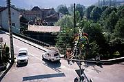 Village of Le Vers, Lot department,  south west France 1976