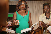 7 July 2010- New York, NY- Venus Williams at book signing for her new book ' Come to Win ' held at The Girls Scout Headquaters as she begins her promotion of her new book ' Come to Win ' published by HarperCollins on July 7, 2010 in New York City.