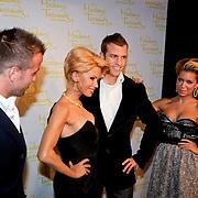 NLD/Amsterdam/20110926 - Onthulling Madame Tussaud's beeld van Sylvie van der Vaart en rafael van der Vaart,