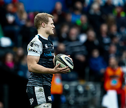 Aled Davies of Ospreys<br /> <br /> Photographer Simon King/Replay Images<br /> <br /> Guinness PRO14 Round 18 - Ospreys v Dragons - Saturday 23rd March 2019 - Liberty Stadium - Swansea<br /> <br /> World Copyright © Replay Images . All rights reserved. info@replayimages.co.uk - http://replayimages.co.uk