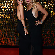 Bethan Wright and Heather Bird attend the BritAsiaTV Presents Kuflink Punjabi Film Awards 2019 at Grosvenor House, Park Lane, London,United Kingdom. 30 March 2019