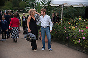 AMBER NUTTALL; TOM AIKENS, The Royal Parks Foundation with Halcyon Gallery unveils Isis, a new sculpture in Hyde Park. Next to the Serpentine lake. London. 7 September 2009.
