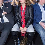 NLD/Amsterdam/20151204 - Freefightgala Glory26, minister Edith Schippers
