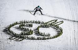 30.12.2018, Schattenbergschanze, Oberstdorf, GER, FIS Weltcup Skisprung, Vierschanzentournee, Oberstdorf, 2. Wertungsdurchgang, im Bild Michael Hayboeck (AUT) // Michael Hayboeck of Austria during his 2nd Competition Jump for the Four Hills Tournament of FIS Ski Jumping World Cup at the Schattenbergschanze in Oberstdorf, Germany on 2018/12/30. EXPA Pictures © 2018, PhotoCredit: EXPA/ JFK