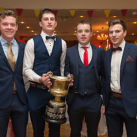 Miltown Malbay Footballers Darragh McDonagh, Conor Cleary, Gearoid Curtin and Damien Lafferty