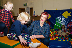 Pictured: Angela Constance<br /> <br /> Communities and Equalities Secretary Angela Constance MSP visited North Edinburgh Childcare to meet children and staff as she marked publication of the child poverty measurement framework's annual report. Ms Constance also provided details of responses to the Child Poverty Bill consultation. Photocall opportunity as Ms Constance meets childcare staff.<br /> <br /> Ger Harley | EEm 21 December 2016