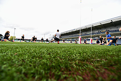 Worcester Valkyries during the pre match warm up - Mandatory by-line: Craig Thomas/JMP - 30/09/2017 - RUGBY - Sixways Stadium - Worcester, England - Worcester Valkyries v Saracens Women - Tyrrells Premier 15s