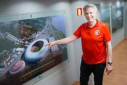O desembargador Guinther Spode é o candidato do Movimento Inter Grande (MIG) à sucessão do presidente Marcelo Medeiros na presidência do S. C. Internacional. FOTO: Jefferson Bernardes/ Agência Preview