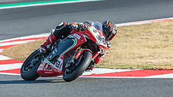 September 28, 2018 - 81, Jordi Torres, ESP, MV Agusta 1000 F4, MV Agusta Reparto Corse, SBK 2018, MOTO - SBK Magny-Cours Grand Prix 2018, Free Practice 1, 2018, Circuit de Nevers Magny-Cours, Acerbis French Round, France ,September 28 2018, action during the SBK Free Practice 1 of the Acerbis French Round on September 28 2018 at Circuit de Nevers Magny-Cours, France (Credit Image: © AFP7 via ZUMA Wire)