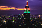Empire State Building, Aerial, New York