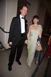 MARTIN ROYALTON-KISCH and LADY MARKS at a dinner to celebrate the opening of 'Maharaja - The Spendour of India's Royal Courts' an exhbition at the V&A, London on 6th October 2009.