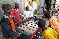 Senegal, Saint Louis du senegal, Patrimoine mondial de l UNESCO. // Senegal, city of Saint Louis, Unesco World Heritage.