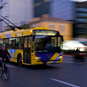 Athens trolley