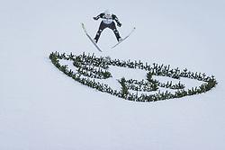 01.01.2021, Olympiaschanze, Garmisch Partenkirchen, GER, FIS Weltcup Skisprung, Vierschanzentournee, Garmisch Partenkirchen, Einzelbewerb, Herren, im Bild Martin Hamann (GER) // Martin Hamann of Germany during the men's individual competition for the Four Hills Tournament of FIS Ski Jumping World Cup at the Olympiaschanze in Garmisch Partenkirchen, Germany on 2021/01/01. EXPA Pictures © 2020, PhotoCredit: EXPA/ JFK