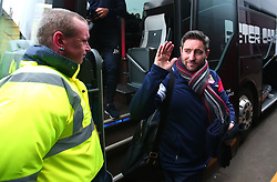 Bristol City head coach Lee Johnson arrives at Vicarage Road for the FA Cup tie against Watford - Mandatory by-line: Robbie Stephenson/JMP - 06/01/2018 - FOOTBALL - Vicarage Road - Watford, England - Watford v Bristol City - Emirates FA Cup third round proper