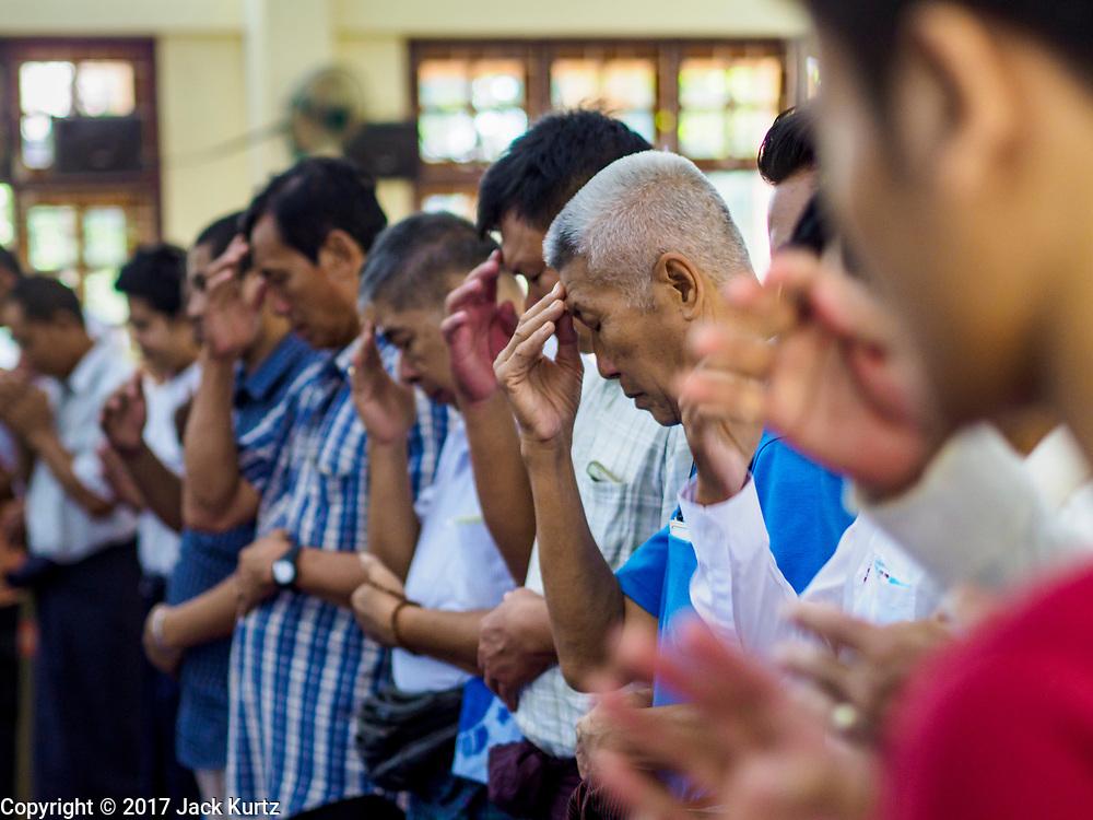 19 NOVEMBER 2017 - HWAMBI, YANGON REGION, MYANMAR:     PHOTO BY JACK KURTZ
