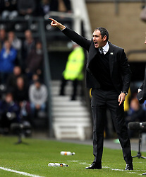 Derby County Manager Paul Clement - Mandatory byline: Robbie Stephenson/JMP - 07966 386802 - 18/10/2015 - FOOTBALL - iPro Stadium - Derby, England - Derby County v Wolverhampton Wanderers - Sky Bet Championship