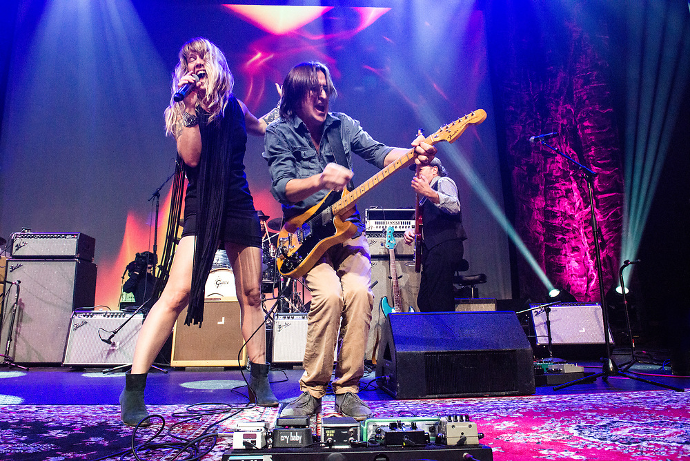 Patrice Pike and Wayne Sutton, ACL Live, ALL ATX, August 2015, Austin, Texas