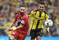 v.l. Oemer Toprak, Pierre-Emerick Aubameyang (Dortmund)<br /> Dortmund, 04.03.2017, Fussball Bundesliga, Borussia Dortmund - Bayer 04 Leverkusen<br /> Norway only