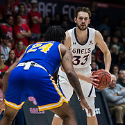 Nov 07, 2018 Moraga, CA  U.S.A.  St. Mary's forward Kyle Clark (33) looks for a open teammate during the NCAA Men's Basketball game between McNeese State Cowboys and the Saint Mary's Gaels 87-65 win at McKeon Pavilion Moraga Calif. Thurman James / CSM
