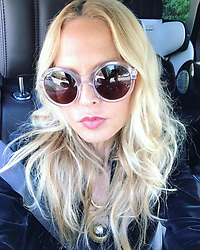 """Rachel Zoe releases a photo on Instagram with the following caption: """"My morning commute #TGIF #fridazed  #halfasleep \ud83d\ude0e\ud83d\ude34XoRZ"""". Photo Credit: Instagram *** No USA Distribution *** For Editorial Use Only *** Not to be Published in Books or Photo Books ***  Please note: Fees charged by the agency are for the agency's services only, and do not, nor are they intended to, convey to the user any ownership of Copyright or License in the material. The agency does not claim any ownership including but not limited to Copyright or License in the attached material. By publishing this material you expressly agree to indemnify and to hold the agency and its directors, shareholders and employees harmless from any loss, claims, damages, demands, expenses (including legal fees), or any causes of action or allegation against the agency arising out of or connected in any way with publication of the material."""