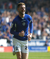 Photo: Steve Bond/Richard Lane Photography. Leicester City v Watford. Coca Cola Championship. 17/04/2010. Paul Gallagher clebrates the 2nd goal