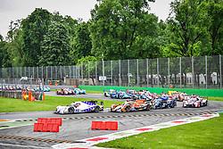 May 13, 2018 - Monza, Italie - 21 DRAGONSPEED (USA) ORECA 07 GIBSON LMP2 HENRIK HEDMAN (SWE) BEN HANLEY (GBR) NICOLAS LAPIERRE  (Credit Image: © Panoramic via ZUMA Press)