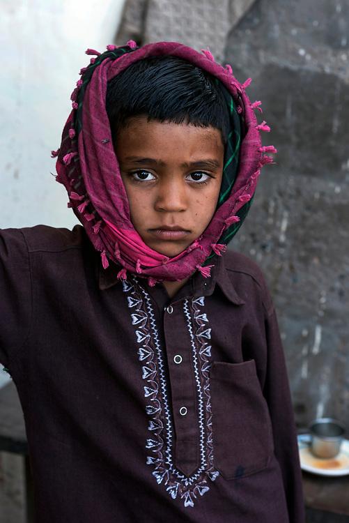 Jat tribal boy, Bhuj, Gujarat