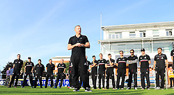 Chris Rogers, captain of Somerset speaks to  the crowd.  - Mandatory by-line: Alex Davidson/JMP - 23/09/2016 - CRICKET - Cooper Associates County Ground - Taunton, United Kingdom - Final Day of the Season - Specsavers County Championship Division One
