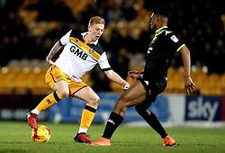 Callum Guy of Port Vale turns on the ball - Mandatory by-line: Robbie Stephenson/JMP - 20/01/2017 - FOOTBALL - Vale Park - Stoke-on-Trent, England - Port Vale v Bury - Sky Bet League One