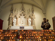 altar with St Anthony of Padua