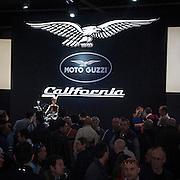 Motosalone Eicma edizione 2012: lo stand Moto Guzzi..International Motorcycle Exhibition 2012: Moto Guzzi Stand