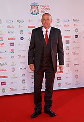 LIVERPOOL, ENGLAND - Tuesday, May 9, 2017: Former Liverpool player Gary McAllister arrives on the red carpet for the Liverpool FC Players' Awards 2017 at Anfield. (Pic by David Rawcliffe/Propaganda)