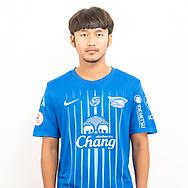 THAILAND - JUNE 11: Sittichok Paso #11 of Chon Buri FC on June 11, 2019.<br /> .<br /> .<br /> .<br /> (Photo by: Naratip Golf Srisupab/SEALs Sports Images/MB Media Solutions)