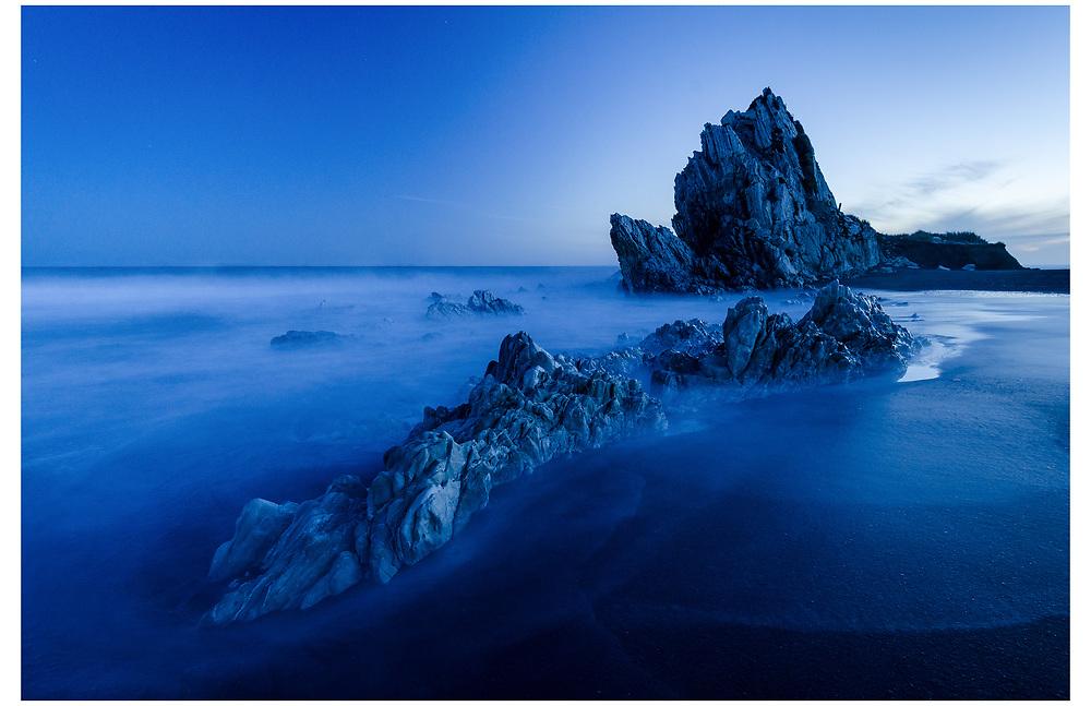 White Rock, Wairarapa Coast.