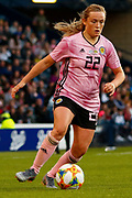 Scotland Goal Scorer Erin CUTHBERT (Chelsea FCW (ENG))  during the International Friendly match between Scotland Women and Jamaica Women at Hampden Park, Glasgow, United Kingdom on 28 May 2019.