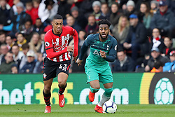 March 9, 2019 - Southampton, England, United Kingdom - Tottenham defender Danny Rose looks to move upfield chased by Southampton defender Yan Valery during the Premier League match between Southampton and Tottenham Hotspur at St Mary's Stadium, Southampton on Saturday 9th March 2019. (Credit Image: © Mi News/NurPhoto via ZUMA Press)