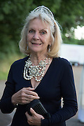 ANNA HARVEY, Richard Taylor's 69th birthday party.  Whithurst Park. West Sussex.  3 August 2013